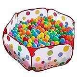 100CM Tente de Jeu Piscine à Balles pour Enfants avec Sac de Rangement (Balles Non Comprises)