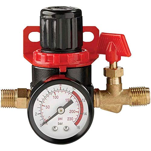 Clarke CAT157 1/4' Mini Air Regulator-CAT157