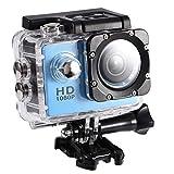 """wasserdichte Kamera DV,1080P Unterwasserkamera, Full HD Sportkamera Action Kamera wasserdichte mit 2"""" LCD-Bildschirm (Blau) -"""