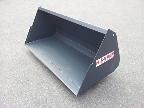 Erdschaufel Universalschaufel Frontladerschaufel Euro-WS m. Hardox Schürfleiste Erdschaufel Arbeitsbreite 110cm