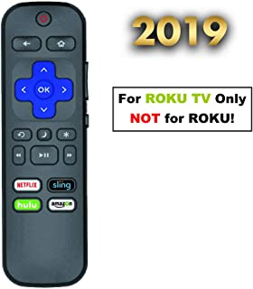 OEM Replacement Remote for Standard Roku TV, Compatible for Hisense/Philips/Hitachi/Sharp/LG/Haier/Element/Sanyo ROKU TV