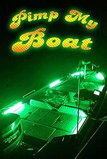 Green Blob Outdoors Pimp My Boat LED Boat Deck Lighting Kit with Navigation Lights DIY