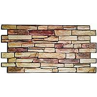 Revestimiento de pared panel de pared de PVC imitación piedra 3D - Modelo piedra de Persia