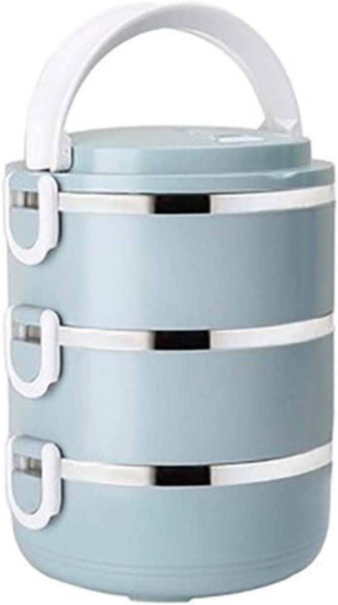 Tiny Fiambrera Multicapa para niños Caja Bento térmica de Acero Inoxidable Recipientes para Alimentos Cajas de Aislamiento al vacío de Gran Capacidad