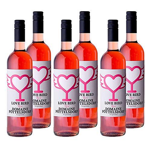 6er Vorteilspaket ROSE trocken   Domaine Pöttelsdorf   Rosé-Wein aus Österreich 2019   6 x 0,75 l