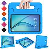 BMOUO Kids Case for Samsung Galaxy Tab A 8.0 (2015) SM-T350 - Shockproof Case Light Weight Kids Case Super Protection Cover Handle Stand Case for Kids Children for Samsung TabA 8-inch Tablet - Blue