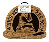 Harry Potter Sorting Hat Door Mat Felpudo, Multicolor, 50 x 40 cm
