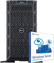 Dell PowerEdge T630 Legal Server for Case Management Databases, 2 Intel Xeon 3.4GHz 6-Core, 64GB RAM, 3.6TB SAS SSD, 18TB SAS HDD, RAID, Remote Access, Windows 2016