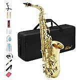 Eastar AS-Ⅱ Alt Saxophon Student Lackiertes Goldenes E Flache mit
