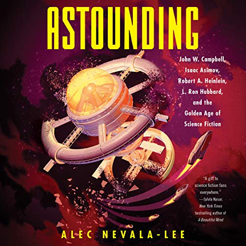 Astounding audiobook cover art