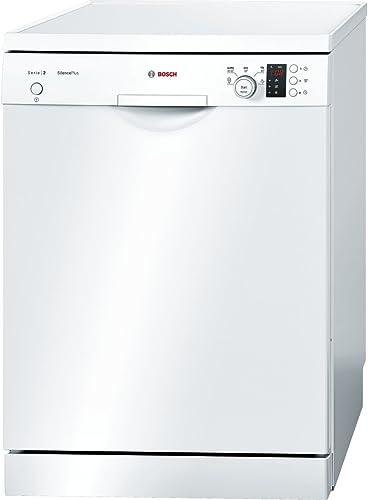 Lave vaisselle Bosch SMS25GW02E - Lave vaisselle 60 cm - Classe A+ / 46 decibels - 12 couverts - Blanc bandeau : Blan...