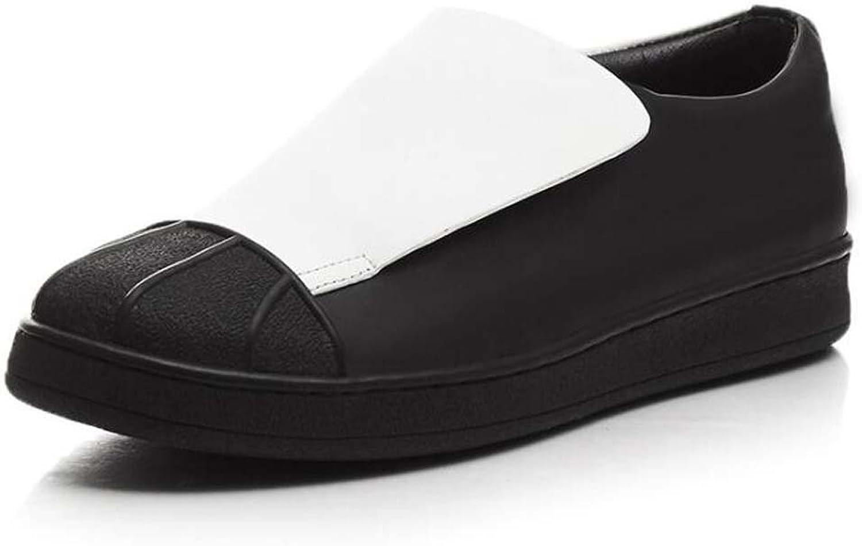 Woherren Casual Schuhe Velcro Mode Wilden Studenten Schuhe Schwarz Gre 34-39