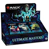Magic The Gathering Ultimate Masters Booster Box | 24 Booster Packs (360 Cards) | 1 Special Box-Topper Card