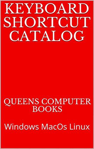 Keyboard Shortcut Catalog: Windows MacOs Linux (English Edition)