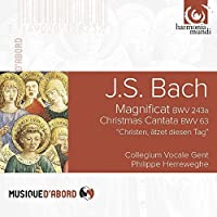 Bach, J.S.: Magnificat BWV243a, Christmas Cantata BWV63 by Collegium Vocale Gent (2015-07-29)