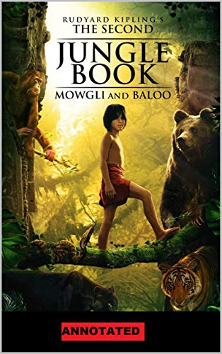 The Second Jungle Book Annotated (English Edition)