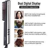 Zoom IMG-2 hiveseen spazzola lisciante barba raddrizzatore