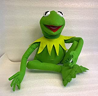 Skazkodrom Design Kermit The Frog Plush Puppet Made to Order from The Muppets Show Sesame Street 18 Inches