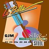 LaBella GJM-BE Gypsy Jazz Silk & Steel Acoustic Guitar Strings, Medium