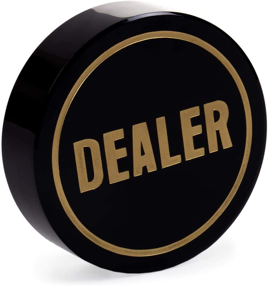 PS Premium Casino Grade Dealer Cheap mail order specialty store Puck - Super-cheap 3 4 x Inch Large Si
