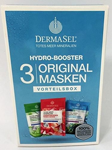 Dermasel Maskenbox Hydro-Booster, 3 Masken