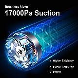 Zoom IMG-1 dibea aspirapolvere senza fili 17000pa