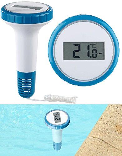 infactory Zubehör zu Thermometer Pool: Zusätzliches Funk-Poolthermometer für PT-250, wasserdicht IPX8 (Funk Thermometer wasserdicht)