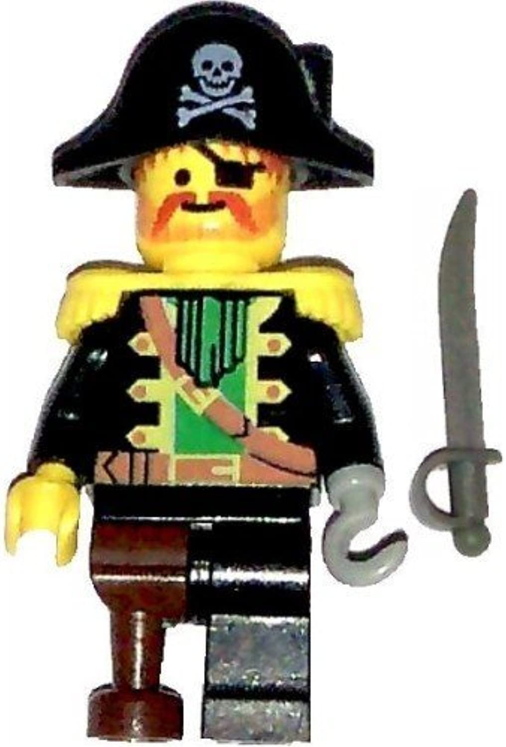 LEGO Pirates Minifig Captain rot Beard with Pirate Hat by