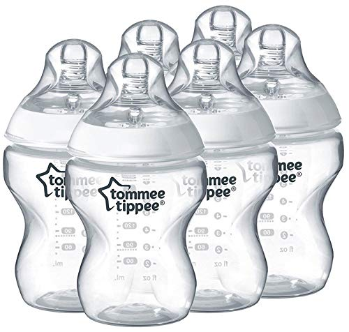 Best Bargain Tommee Tippee Closer to Nature Bottle 260ml x6