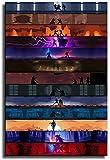 Renyy Poster für Wanddekoration, Motiv: Star Wars Darth