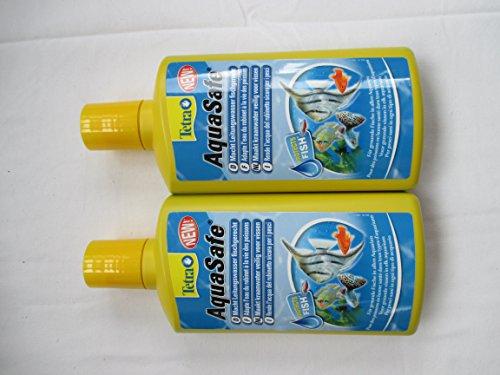 Tetra Aquasafe Purificador de Agua para Peces de Acuario 500 ml x 2