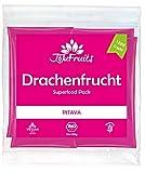 JoJu Fruits - Bio Drachenfrucht Püree - 24 Smoothie Packs - Superfood aus Pitaya