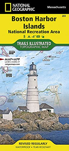 Boston Harbor Islands National Recreation Area (National Geographic Trails Illustrated Map, 265)