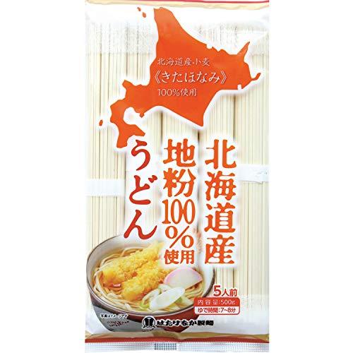 はたけなか製麺 北海道産地粉100% 使用うどん 500g ×12個