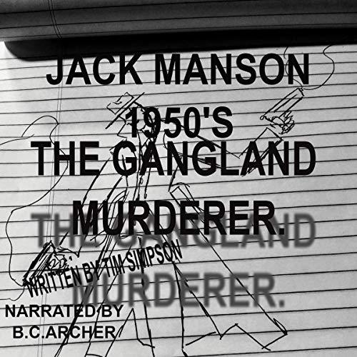 Jack Manson 1950's audiobook cover art