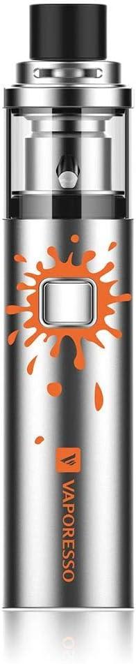 Vaporesso Veco Solo Vape Kit con 1500mAh batería (acero) - No hay nicotina. Max 2ml