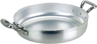 Ollas Agnelli Pan de Aluminio BLTF, con 2 Asas en Acero Inoxidable, Plata, 16 cm