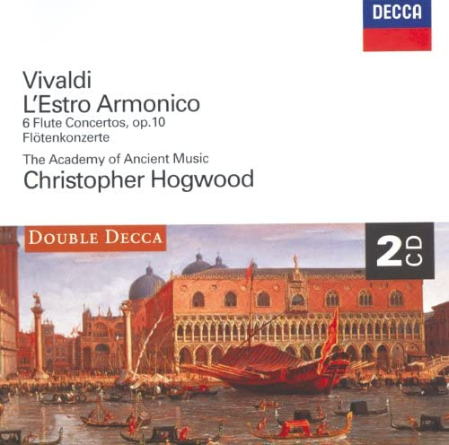 Stephen Preston, The Academy of Ancient Music & Christopher Hogwood