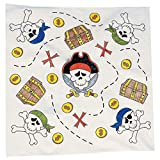 Elfen und Zwerge 6 x Bastelset Piraten Kopftuch Bandana Gestalte Dein Kopftuch selbst Kinderparty Piratenparty Basteln Kindergeburtstag