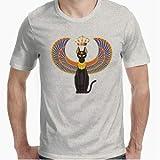 Positivos Gato Egipcio Camiseta - Diseño Original - - S