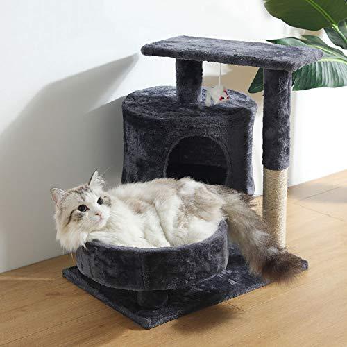 QAZWSX Árbol de Gato Gato molienda Garra Juguete Vertical Gato rasguño Poste práctico Cat Marco de Escalada,5