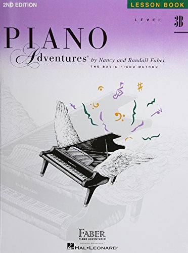 Level 3B - Lesson Book: Piano Adventures