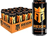 Reign Total Body Fuel, Orange Dreamsicle, Fitness & Performance Drink, 16 Fl Oz (Pack of 12)