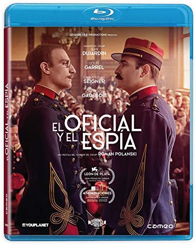 El Oficial Y El Espía [Blu-ray] Jean Dujardin