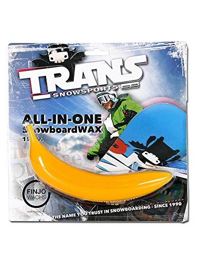 ELFGEN'84 Skiwachs Trans Wachsbanane, Yellow, 502103