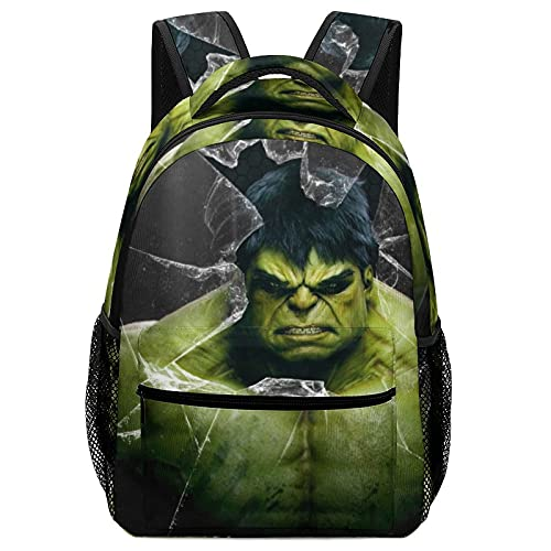 Hulk Avenger Superhero Children's Schoolbags, High-Capacity Backpacks For Primary And Middle School Students Ultra-Lightweight And Multi-Compartment