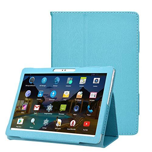 AIJAKO 10 Inch Case Cover for Dragon Touch Notepad K10 Max10 10 Inch/FLYINGTECH 10/Victbing 10/WECOOL 10/Allmeida G10/VANKYO MatrixPad S30/Hoozo 10/ZONKO K105/YELLYOUTH 10/Lectrus 10/YIERA 10, Skyblue