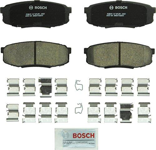 Bosch BC1304 QuietCast Premium Ceramic Disc Brake Pad Set For Lexus: 2008-2017 LX570; Toyota: 2008-2017 Land Cruiser, 2008-2017 Sequoia, 2007-2017 Tundra; Rear