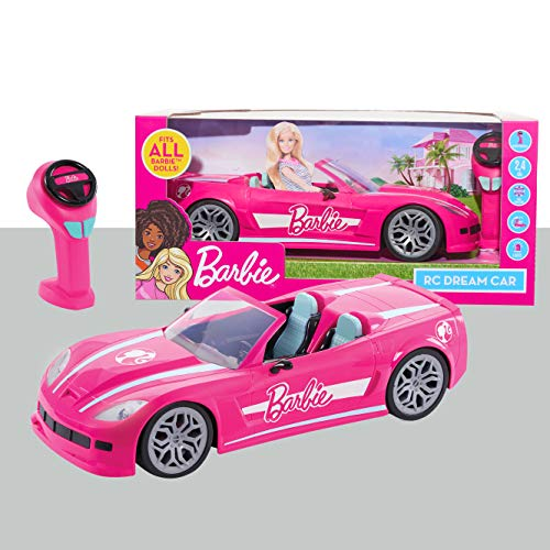 Barbie RC Convertible Car