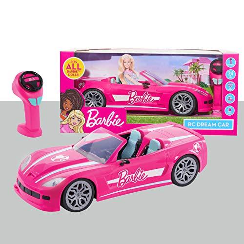 Barbie RC Convertible Car, Ages 3+